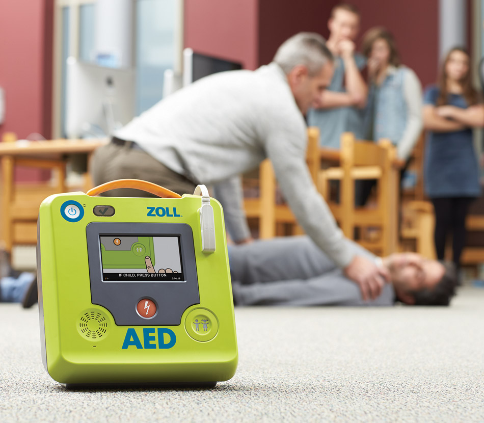 ZOLL AED 3 Fully-Automatic Defibrillator - HCE Healthcare