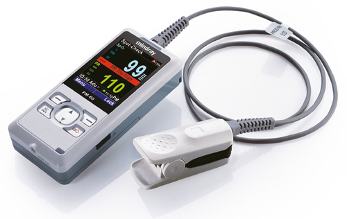 Mindray PM60 Pulse Oximetry Monitor, Md with Charger