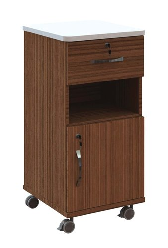 Axis Plus Bedside Lockers RHH (White Upstands Top) - Specify Colour (Keyed Alike)