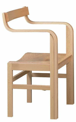 Wooden Chair for Shortwave Therapy Treatment