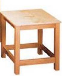 Wooden Stool 400mm x 400mm