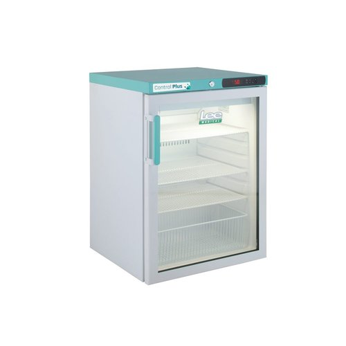Lec Medical PPGR158UK Pharmacy Plus Fridge Glass Door 158L