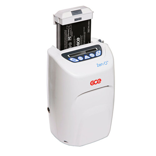Zen-O Oxygen Concentrator with 2x 12 Cell Batteries & All Accessories