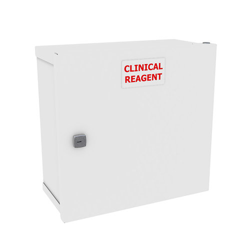Shuttleworth Clinical Reagent Cabinet with Cam Lock - 600 x 300 x 600mm