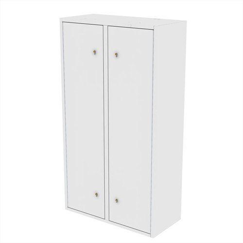 Drug Storage Cabinet with Four Adjustable Shelves & 6 Euro Locks - 1000 x 460 x 1800mm