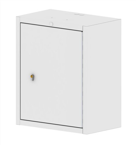 Controlled Drug Cabinet Wall Mountable with Euro Lock - 500 x 300 x 600mm