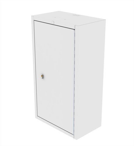 Controlled Drug Cabinet Wall Mountable with Euro Lock - 500 x 300 x 900mm