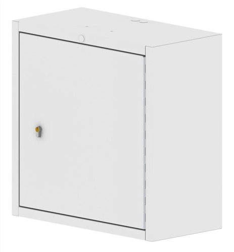 Controlled Drug Cabinet Wall Mountable with Euro Lock - 600 x 300 x 600mm