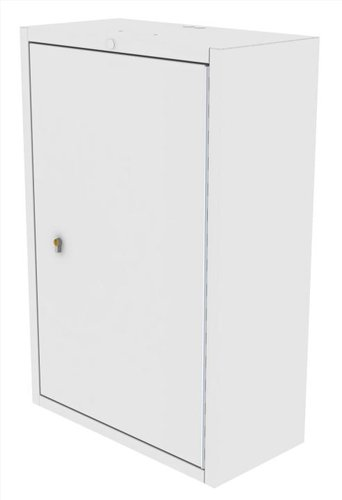 Drug Storage Cabinet Wall Mountable with One Euro Lock - 500 x 300 x 900mm