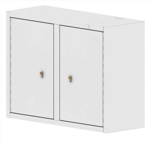 Drug Storage Cabinet Wall Mountable with Two Euro Locks - 800 x 300 x 600mm