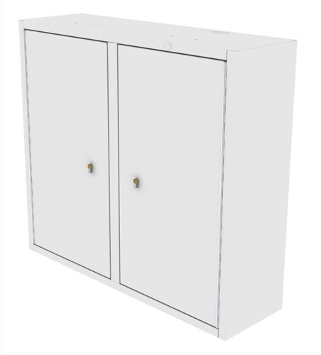 Drug Storage Cabinet Wall Mountable with One Euro Lock - 1000 x 300 x 900mm