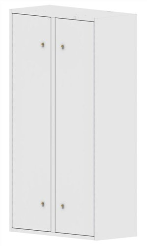 Drug Storage Cabinet Wall Mountable with Five Euro Locks - 1000 x 460 x 1800mm