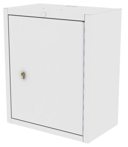 Drug Storage Cabinet Wall Mountable with One Euro Lock - 500 x 300 x 600mm