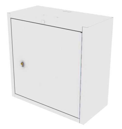 Drug Storage Cabinet Wall Mountable with One Euro Lock - 600 x 300 x 600mm