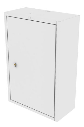 Drug Storage Cabinet Wall Mountable with One Euro Lock - 600 x 300 x 900mm