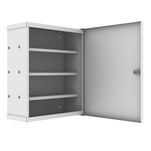 Shuttleworth Wall Mounted Patient Drug Cabinet with Cam Lock - 360 x 155 x 428mm