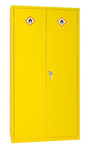 Hazardous Substance Cabinet with 36L Sump & Three Shelves – 915 x 457 x 1830mm
