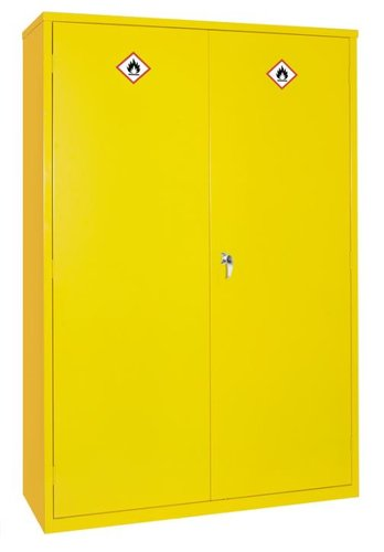 Hazardous Substance Cabinet with 45L Sump & Three Shelves – 1220 x 457 x 1830mm