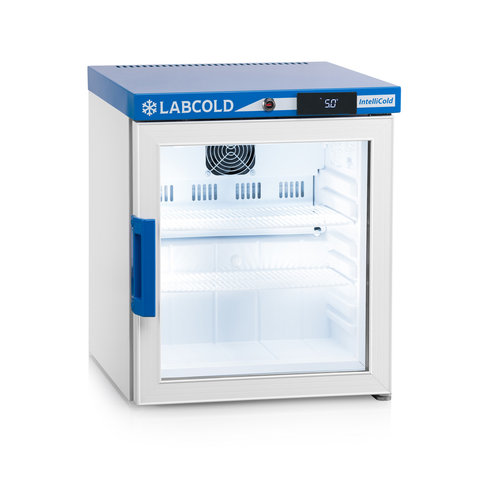 Labcold RLDG0119 Bench Top Pharmacy Fridge with Glass Door - 36 Litre