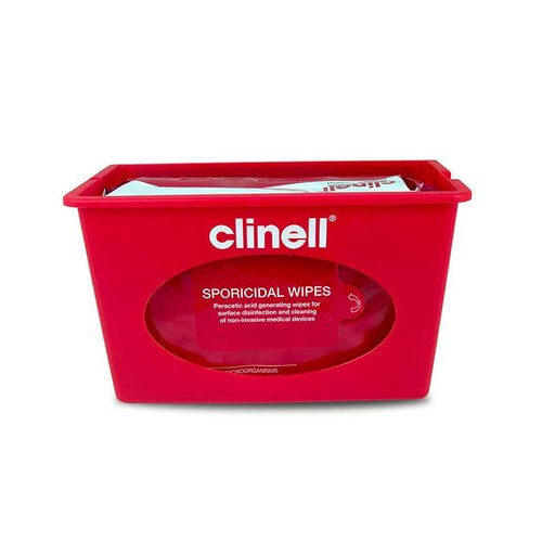 Clinell Wall Mounted Dispensers - Red