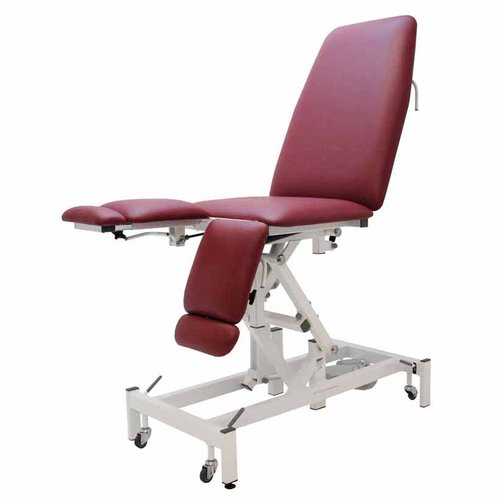 Medi-Plinth Medical Chair - Electric Non-Tilting Ash Grey
