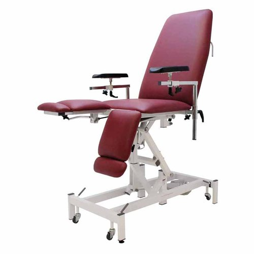 Medi-Plinth Phlebotomy Chair with Split Leg - Electric Ash Grey