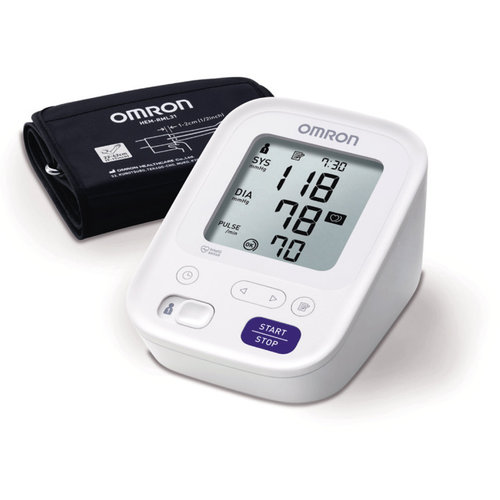 Omron NEW M3 Upper Arm BP Monitor with Easy Cuff (22-42cm)