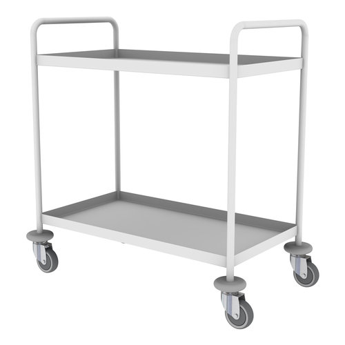 Shuttleworth Mild Steel Two Shelf General Purple Trolley