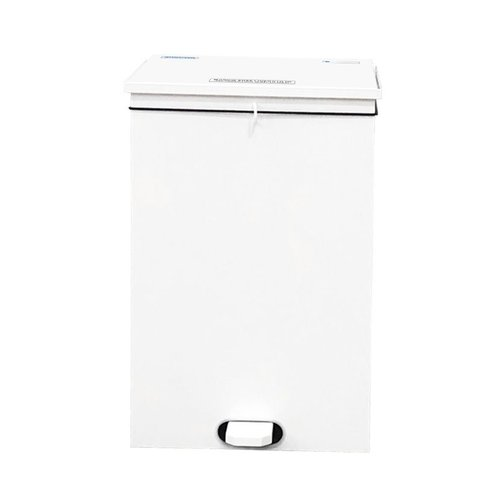 Shuttleworth Soft Close Bin 50L White - General Use