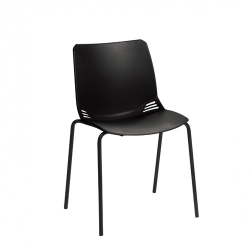 Sunflower Neptune Visitor Chair in Black