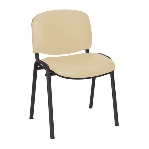 Sunflower Galaxy Visitor Chair - Beige Anti-Bacterial Vinyl