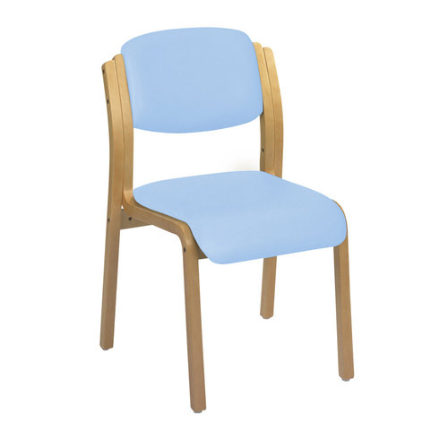 Sunflower Aurora Visitor Chair - Beige Anti-Bacterial Vinyl