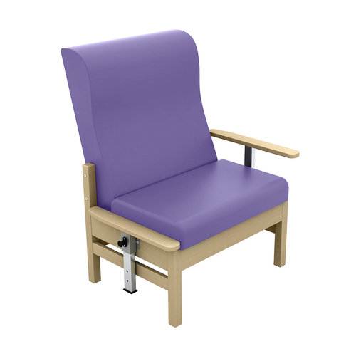 Sunflower Atlas 40st. Chair with Drop Arms - Beige Anti-Bacterial Vinyl