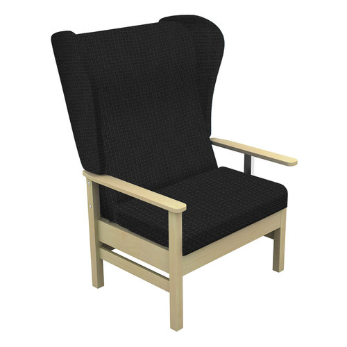 Sunflower Atlas 40st. Chair with Wings - Beige Anti-Bacterial Inter/Vene Upholstery