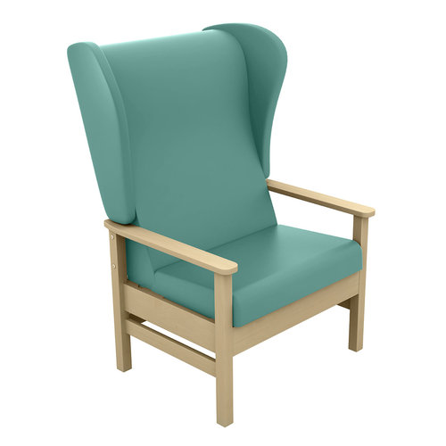 Sunflower Atlas 40st. Chair with Wings - Beige Anti-Bacterial Vinyl