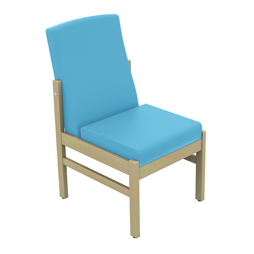 Sunflower Atlas Low-Back Side Chair - Beige Anti-Bacterial Vinyl