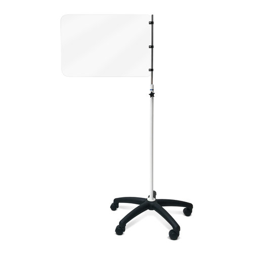Mobile Protective Safety Screen - Height Adjustable