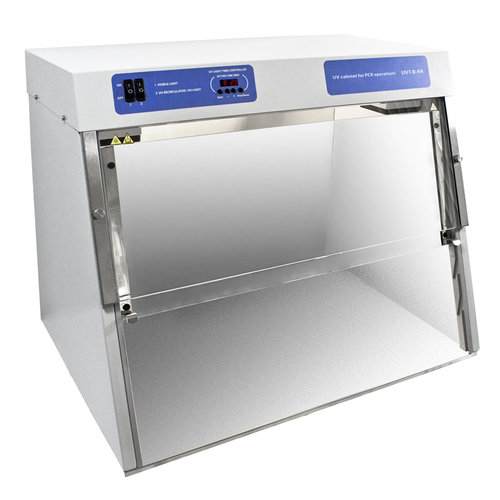Eco UV Cabinet/PCR Workstation with Dual UV Lamp, Recirculator & Internal Power Outlet