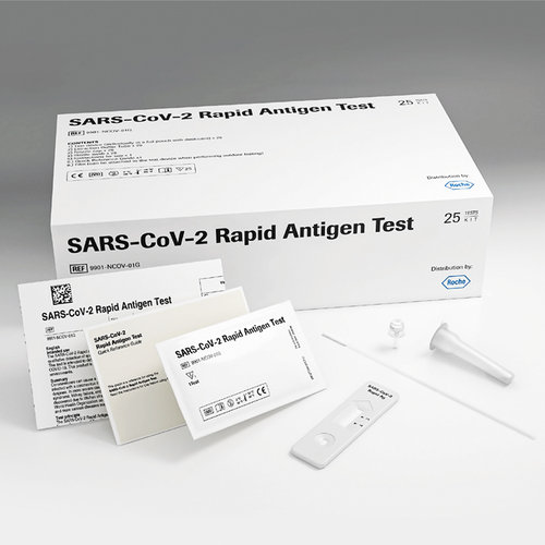 Roche SARS-CoV 2 Rapid Antigen Test (25 Pack)