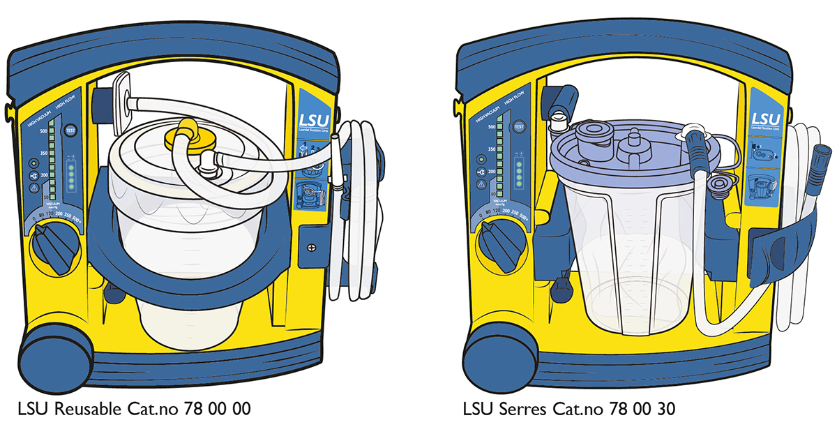 Laerdal LSU Diagrams